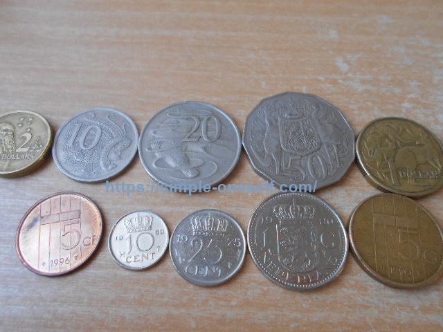 余った外国コインを七福本舗で買取依頼~コインの寄付先もご紹介